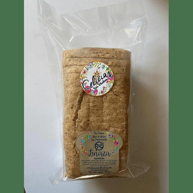 Pan Molde sin gluten de Linaza 600g Celicias