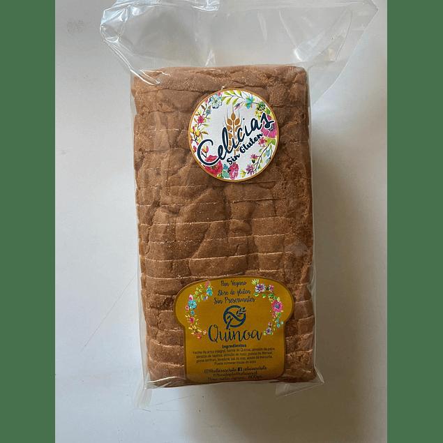Pan Molde sin gluten de Quinoa 600g Celicias