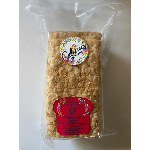 Pan Molde sin gluten de Avena 600g Celicias