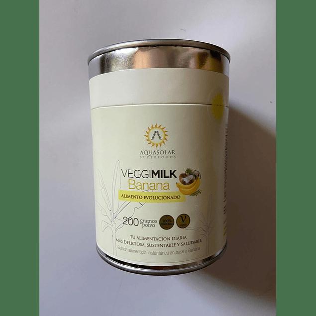Veggimilk Banana 200g Aquasolar