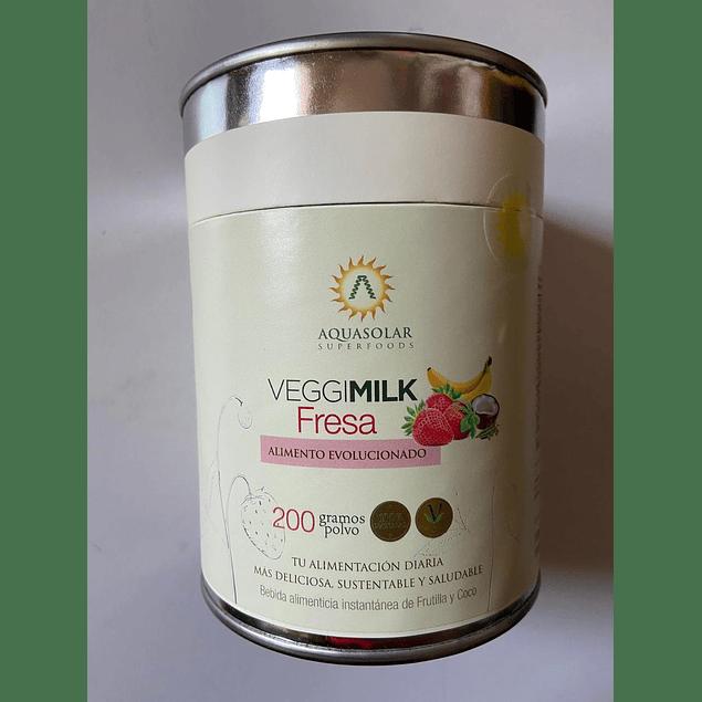Veggimilk Fresa 200g Aquasolar