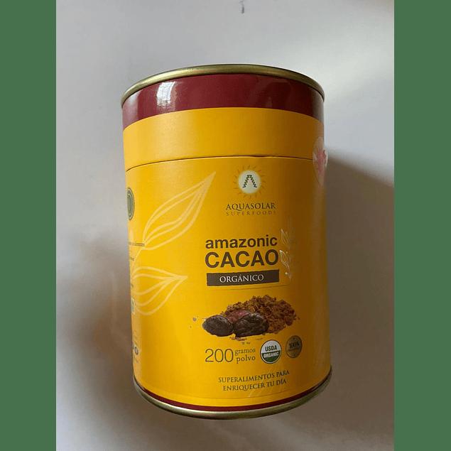 Amazonic Cacao polvo Organico 200g Aquasolar