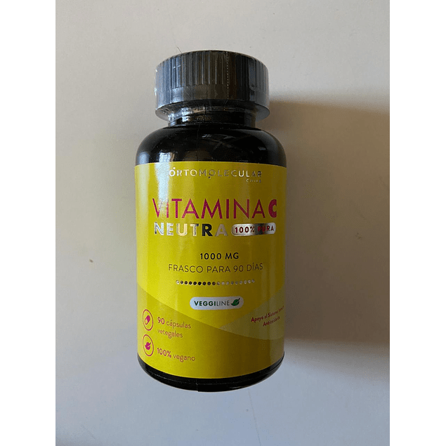 Vitamina C Neutra 90 Caps Ortomolecular