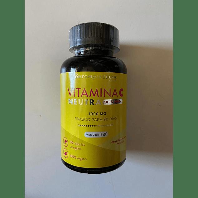 Vitamina C Neutra 90 Caps Ortomolecular
