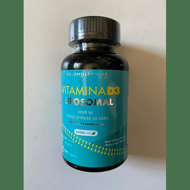 Vitamina D3 Liposomal 60 Caps Ortomolecular