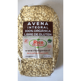 Avena Sin Gluten Organica 1kl Rico Organico