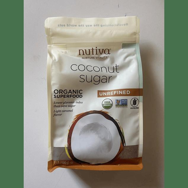 Azucar de Coco Organica 453g Nutiva