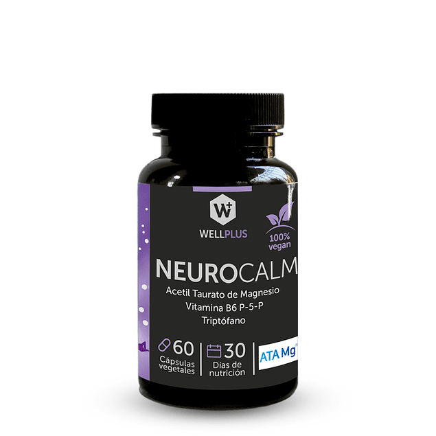 Neurocalm 60 Caps Wellplus