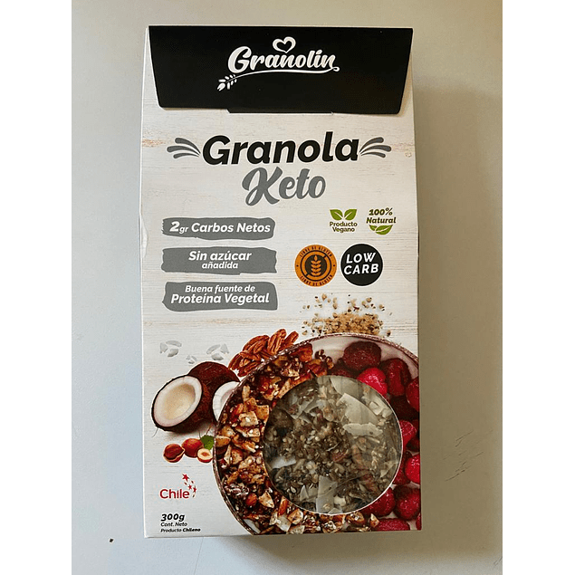 Granola Keto 300g Granolin