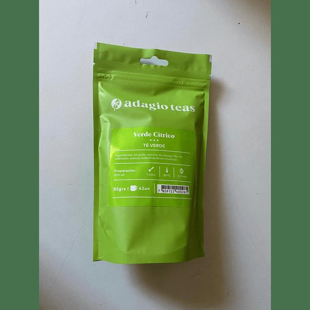 Té Verde Citrico Hebra 85g Adagio