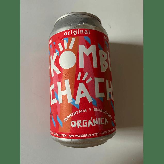 Kombucha Original lata 350ml kombuchacha