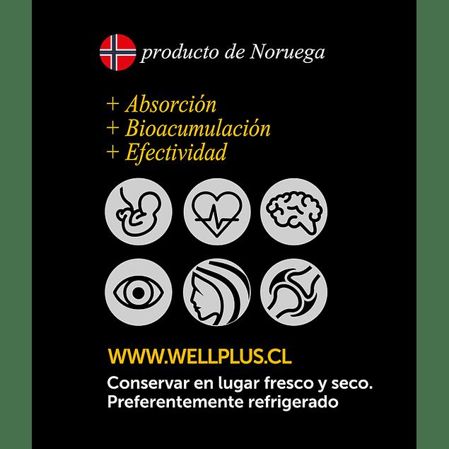 Omega Plus 670 60 Cápsulas  Wellplus