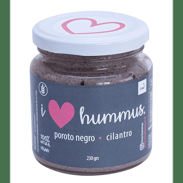Hummus Poroto Negro y Cilantro 230g I Love Hummus