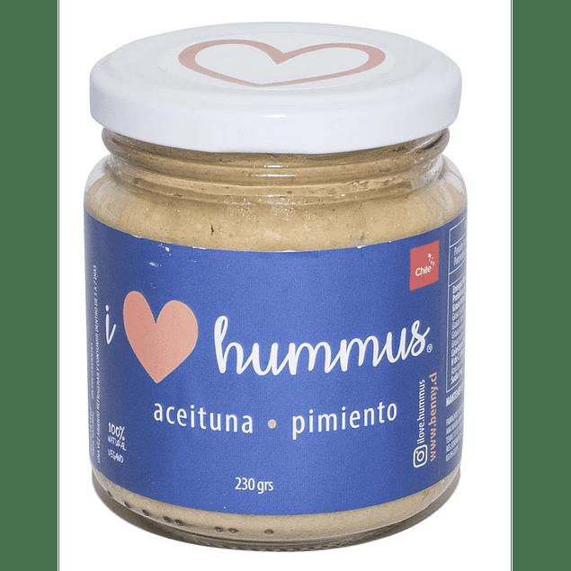 Hummus Aceituna y Pimiento 230g I Love Hummus