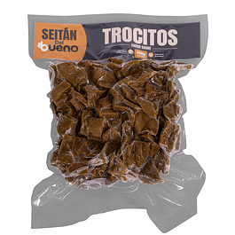 Seitan Trocitos sabor carne 500g Seitan del Bueno