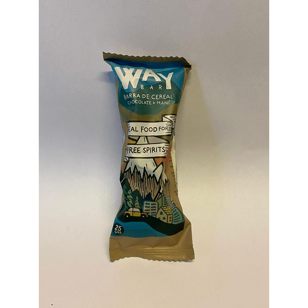 Way Bar 25g The Wild Foods