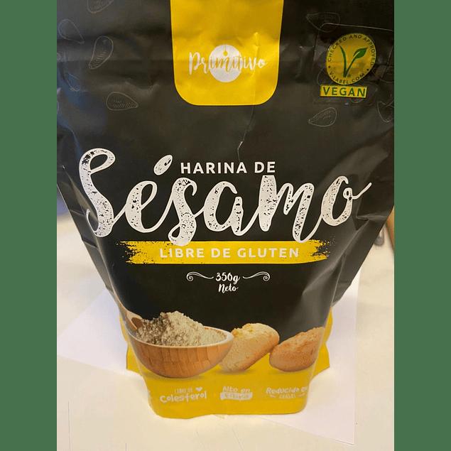 Harina de Sesamo 350g Primitivo