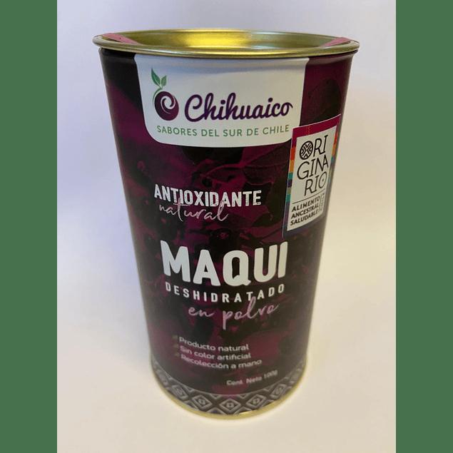Maqui en polvo 100g Chihuaico