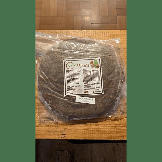 Tortilla XL keto Cioccolata 6 unidades Cetortilla