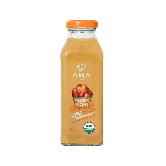 Jugo Manzana y Mango 300cc Orgánico Ama