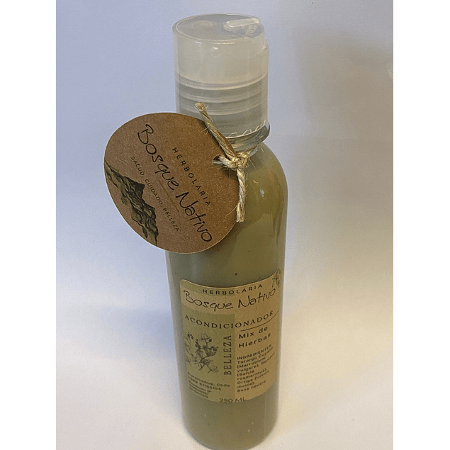 Acondicionador Mix de Hierbas 250ml Herbolaria Bosque Nativo