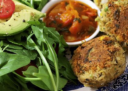 Receta: Falafel con Salsa Picante