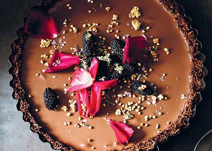 Receta: Tarta de Chocolate con Cardamomo