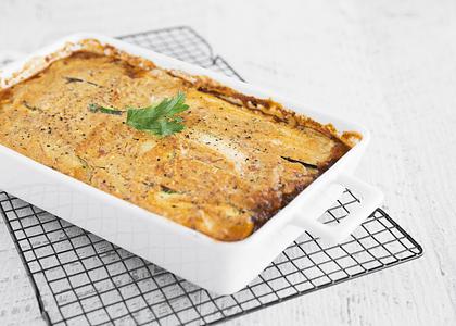 Receta: Lasaña de zapallo italiano -vegana y sin gluten-