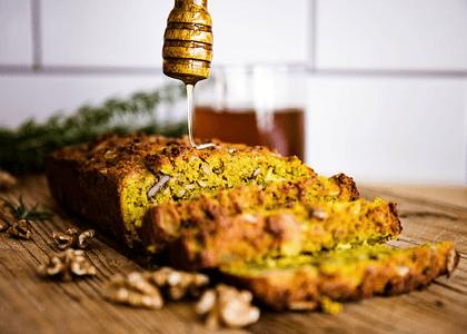 Receta: Pan de semillas y cúrcuma