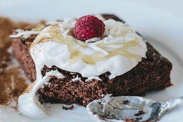 Receta: Cuadraditos de chocolate, café y canela