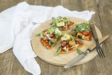 Pizza fácil sin gluten