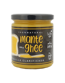 Ghee mantequilla clarificada 450 grs.