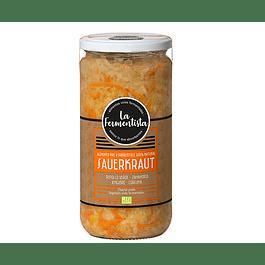 Chucrut Repollo Zanahoria Jenjibgre Curcuma 680gr Refrigerado La Fermentista