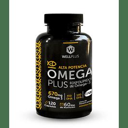 Omega Plus 670 120 Cápsulas  Wellplus
