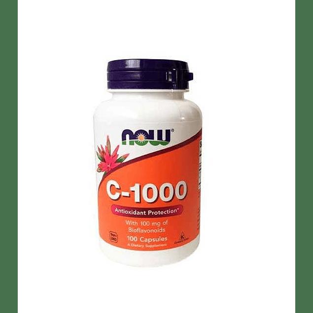 Vitamina C1000 100 capsulas  Now