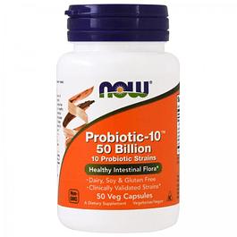 Probiotico 50 Billones 50 cápsulas  Now