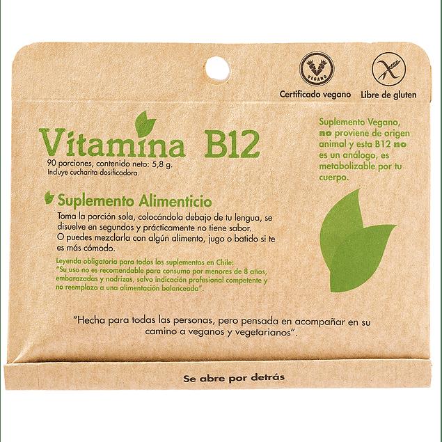 Vitamina B12 90 porciones Dulzura Natural