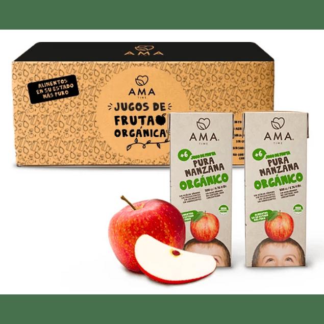 Jugo Cajita Manzana 200cc Orgánico
