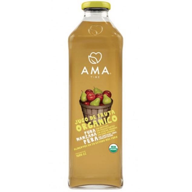 Jugo Manzana Pera 1lt Orgánico Ama