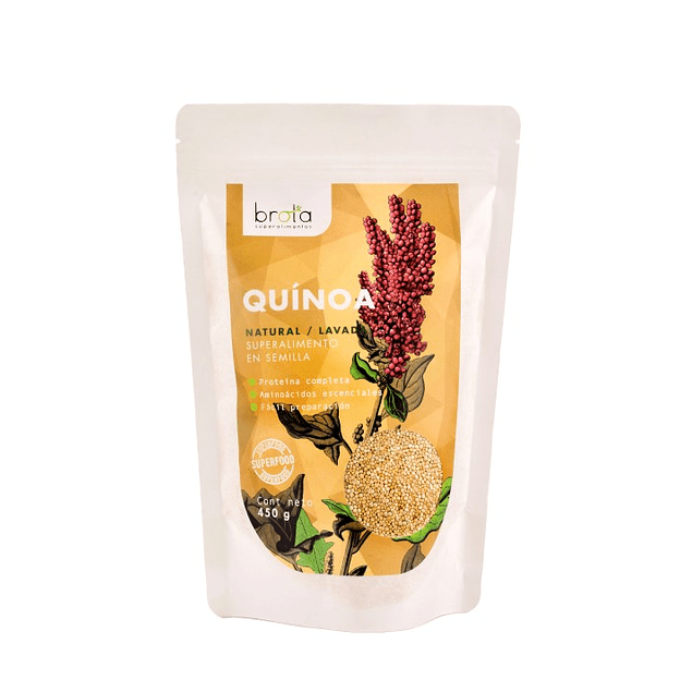 Quinoa Real 450gr  Brota