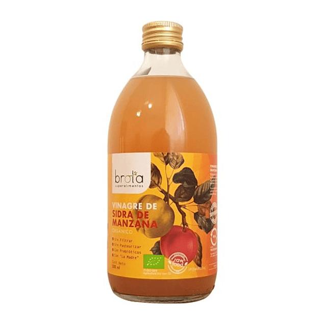 Vinagre de sidra de manzana 500ml Orgánico Brota