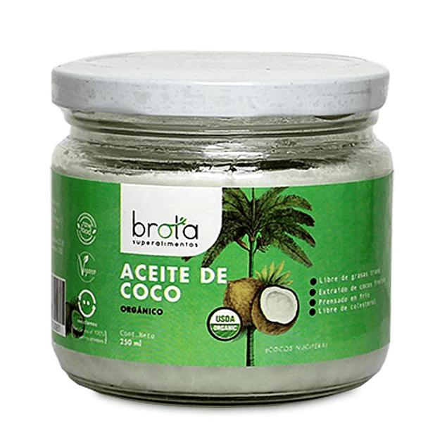 Aceite de coco 250ml Orgánico Brota
