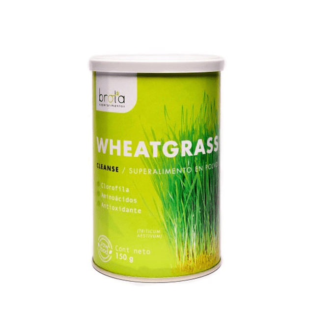 Wheatgrass 150gr Polvo Brota