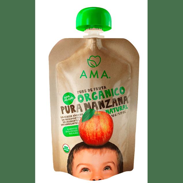 Papilla Manzana 90gr Orgánico Ama