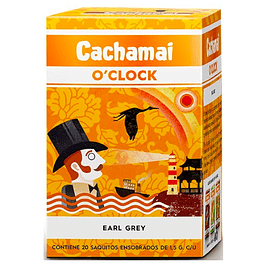 Te negro bergamota 30gr  Cachamai