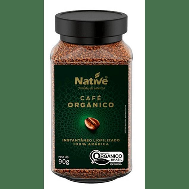 Café instantáneo 90gr Orgánico Native