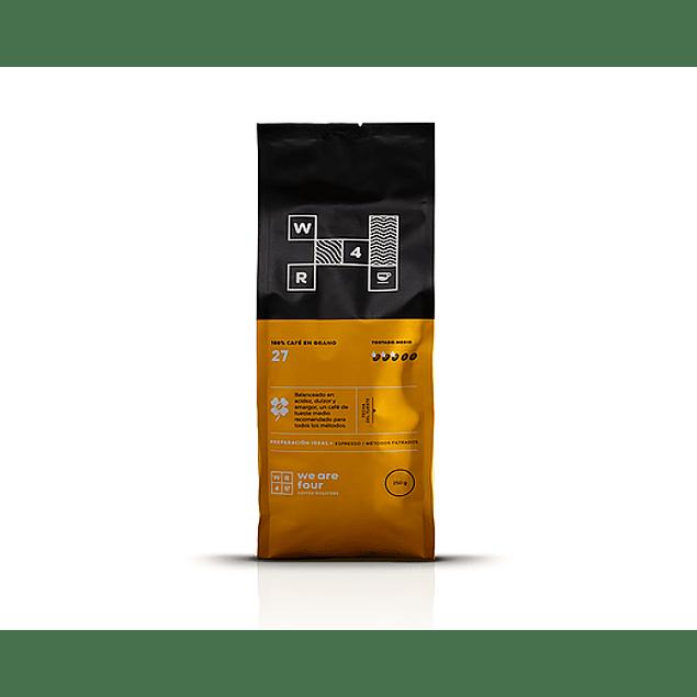 Café de grano 27  250gr  WR4