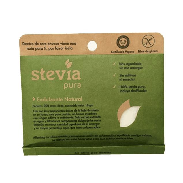 Stevia Pura 10gr  Dulzura Natural