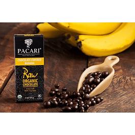 Banana cubierta de chocolate 57gr Orgánico Pacari