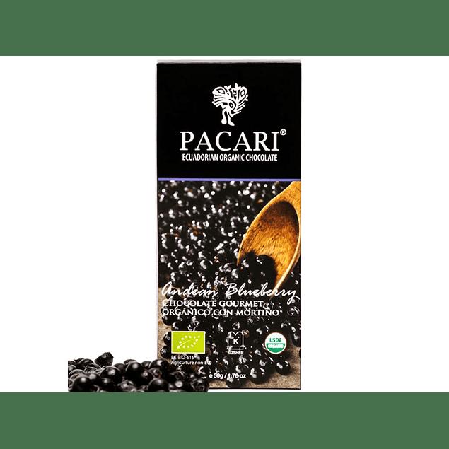 Chocolate Arándano 50gr Orgánico Pacari